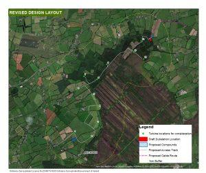 PDF of Drehid Wind Farm Layout map
