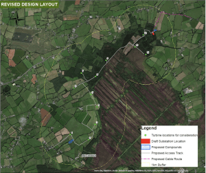 Thumbnail image of Drehid Wind Farm map